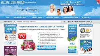 sitio Web oficial de Evolution Slimming y hacer la compra directa